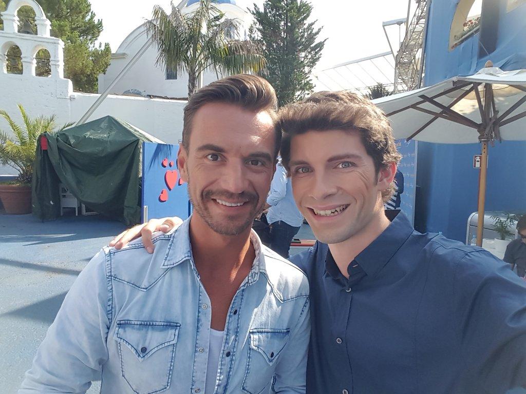Michi Glück mit Florian Silbereisen